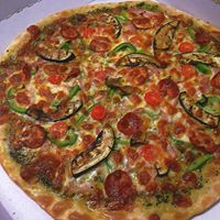 veg loaded pizza