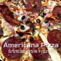 Americana pizza